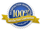 100 Percent Satisfaciton Guaranteed