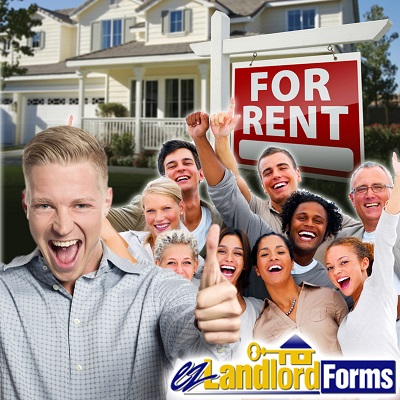 EZ Landlord Forms team members sign lease agreements, screen tenants and invest in rental properties.