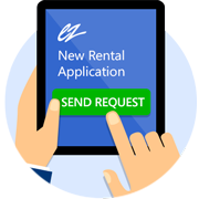 Tenant Screening - Step 1 | Send Link to Applicant