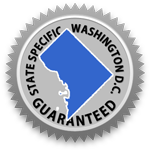District of Columbia Lease Agreement Guarantee Seal
