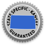 Kansas Lease Agreement Guarantee Seal
