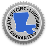 Louisiana Lease Agreement Guarantee Seal