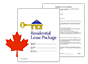 Province-Specific Leasing Forms for Canada