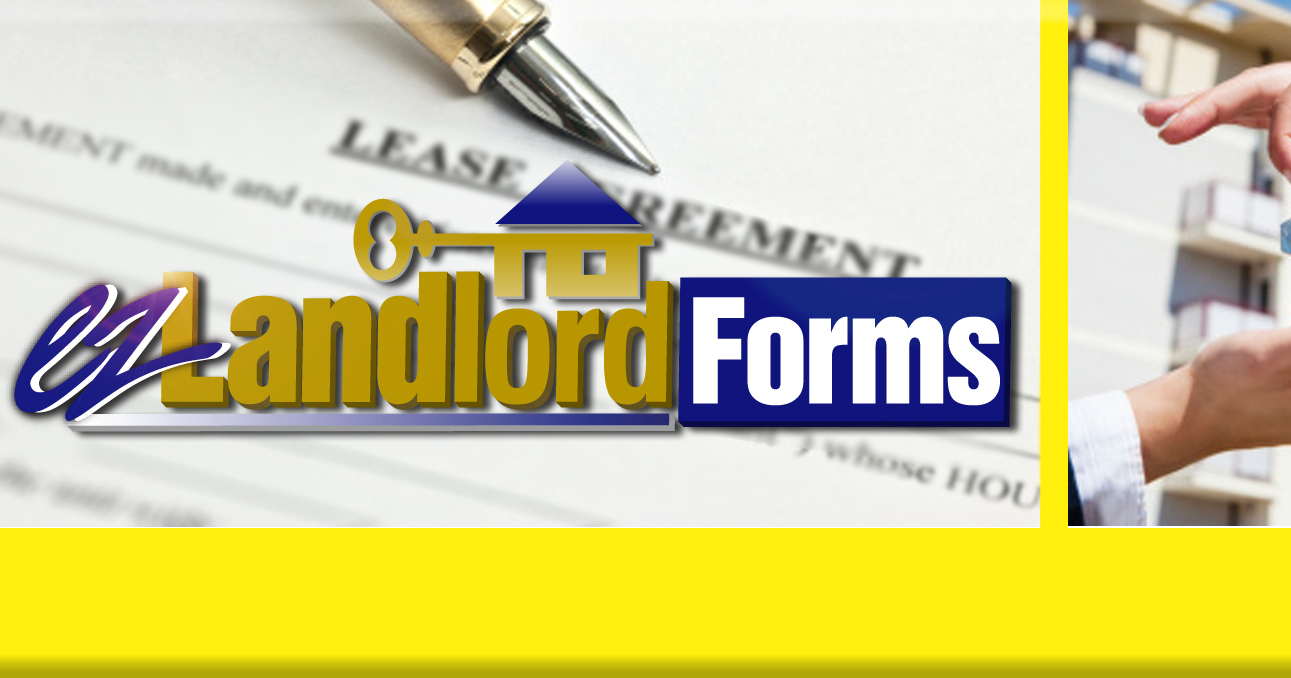 Rental Lease Agreement, Application Forms U0026 Templates | EZ Landlord Forms  Free Leases Online